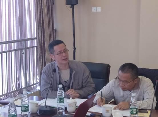 重庆工程咨询协会秘书长李宗泽讲话